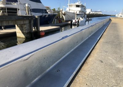 steal barrier fabrication